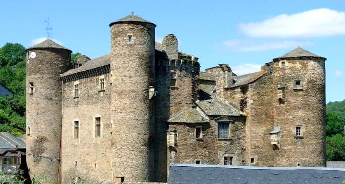 Coupiac le château